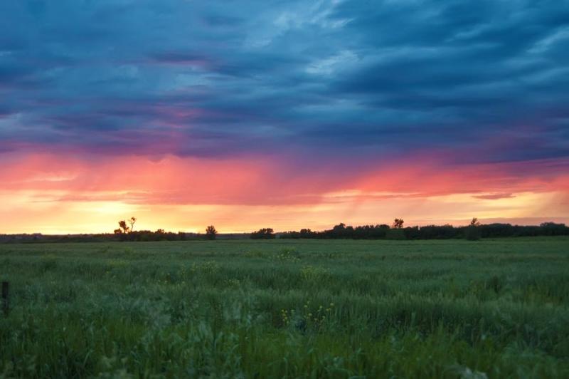June_sunset